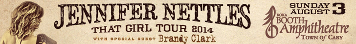 Outback concerts presents Jennifer Nettles THAT GIRL tour 2014 with special guest Brandy Clark